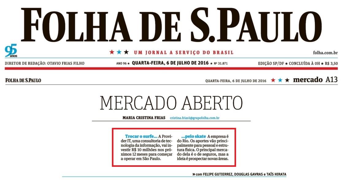 folha de sao paulo (impressa)