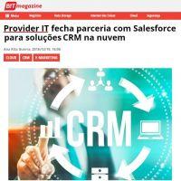 Provider IT fecha parceria com Salesforce para soluções CRM na nuvem
