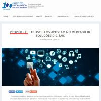 Provider IT e Outsystems apostam no mercado de soluções digitais