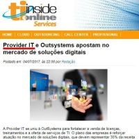 Provider IT e Outsystems apostam no mercado de soluções digitais