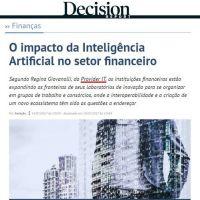 O impacto da Inteligência Artificial no setor financeiro