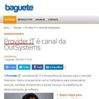 Provider IT é canal da OutSystems