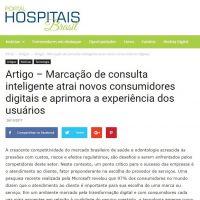 Artigo - Marcação de consulta inteligente atrai novos consumidores digitais e aprimora a experiência dos usuários