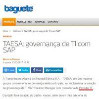 TAESA: governança de TI com SAP