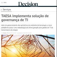 TAESA implementa solução de governança de TI