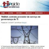 TAESA contrata provedor de serviço de governança de TI